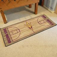 Arizona State Sun Devils Basketball Court Runner Rug