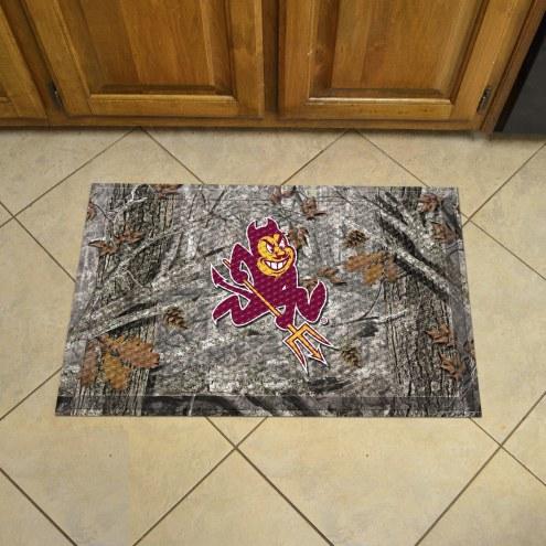 Arizona State Sun Devils Camo Scraper Door Mat