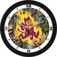 Arizona State Sun Devils Camo Wall Clock