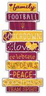 Arizona State Sun Devils Celebrations Stack Sign