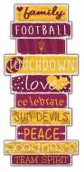 Arizona State Sun Devils Celebrations Stack Sign