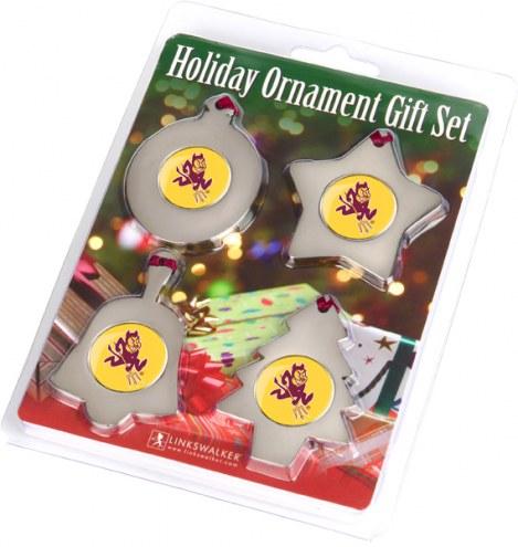 Arizona State Sun Devils Christmas Ornament Gift Set