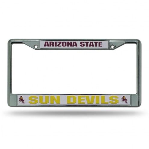 Arizona State Sun Devils Chrome License Plate Frame