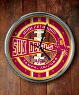 Arizona State Sun Devils Chrome Wall Clock