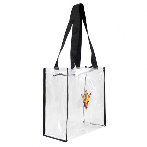 Arizona State Sun Devils Clear Square Stadium Tote
