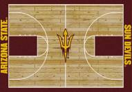 Arizona State Sun Devils College Home Court Area Rug