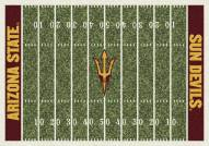 Arizona State Sun Devils College Home Field Area Rug