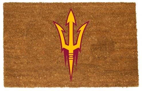 Arizona State Sun Devils Colored Logo Door Mat