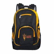 NCAA Arizona State Sun Devils Colored Trim Premium Laptop Backpack