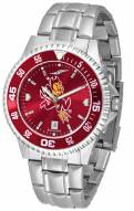 Arizona State Sun Devils Competitor Steel AnoChrome Color Bezel Men's Watch