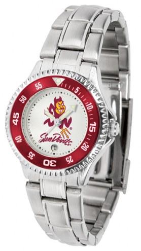 Arizona State Sun Devils Competitor Steel Women's Watch