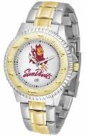 Arizona State Sun Devils Competitor Two-Tone Men's Watch