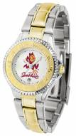 Arizona State Sun Devils Competitor Two-Tone Women's Watch
