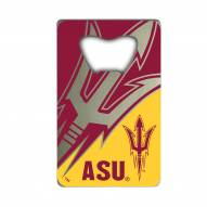 Arizona State Sun Devils Credit Card Style Bottle Opener