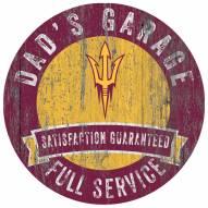 Arizona State Sun Devils Dad's Garage Sign