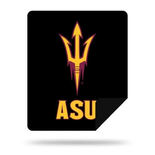 Arizona State Sun Devils Denali Sliver Knit Throw Blanket