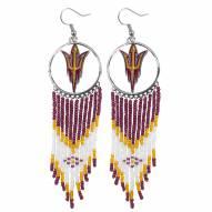 Arizona State Sun Devils Dreamcatcher Earrings