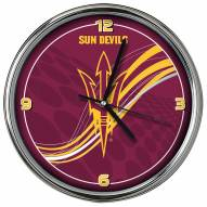 Arizona State Sun Devils Dynamic Chrome Clock