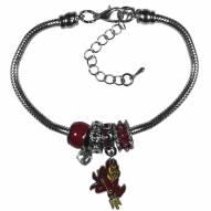 Arizona State Sun Devils Euro Bead Bracelet