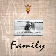 Arizona State Sun Devils Family Picture Frame