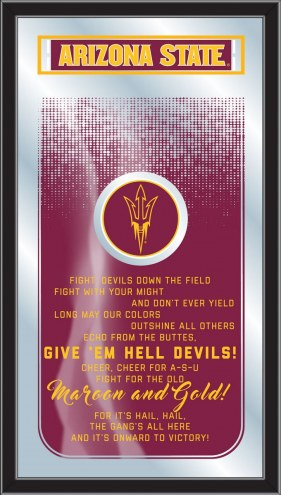 Arizona State Sun Devils Fight Song Mirror