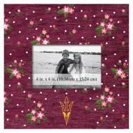 "Arizona State Sun Devils Floral 10"" x 10"" Picture Frame"