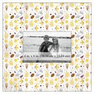 """Arizona State Sun Devils Floral Pattern 10"""" x 10"""" Picture Frame"""