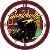 Arizona State Sun Devils Football Helmet Wall Clock