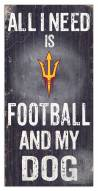 Arizona State Sun Devils Football & My Dog Sign