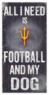 Arizona State Sun Devils Football & My Dog Sign