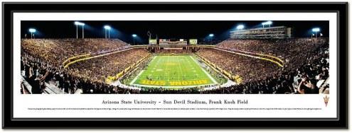 Arizona State Sun Devils Framed Stadium Print