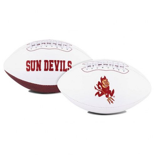 Arizona State Sun Devils Full Size Embroidered Signature Series Football