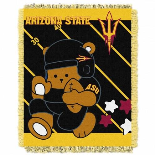 Arizona State Sun Devils Fullback Baby Blanket