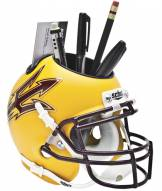 Arizona State Sun Devils Gold Schutt Football Helmet Desk Caddy