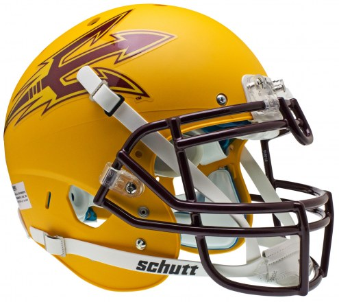 Arizona State Sun Devils Gold Schutt XP Authentic Full Size Football Helmet