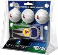 Arizona State Sun Devils Golf Ball Gift Pack with Hat Trick Divot Tool
