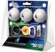 Arizona State Sun Devils Golf Ball Gift Pack with Key Chain