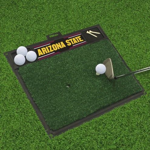 Arizona State Sun Devils Golf Hitting Mat