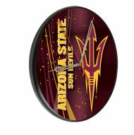 Arizona State Sun Devils Digitally Printed Wood Clock