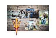 Arizona State Sun Devils I Love My Family Clip Frame