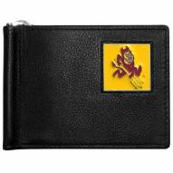 Arizona State Sun Devils Leather Bill Clip Wallet