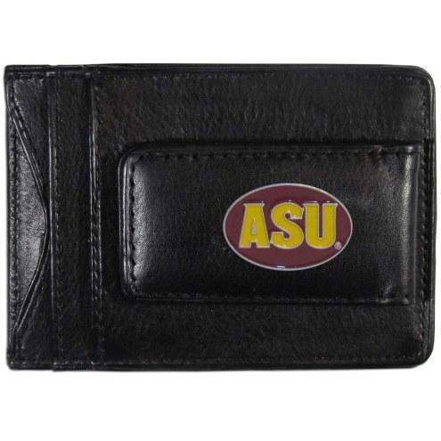Arizona State Sun Devils Leather Cash & Cardholder