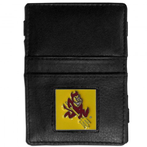 Arizona State Sun Devils Leather Jacob's Ladder Wallet