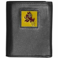 Arizona State Sun Devils Leather Tri-fold Wallet