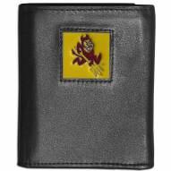 Arizona State Sun Devils Leather Tri-fold Wallet