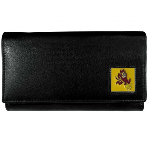 Arizona State Sun Devils Leather Women's Wallet