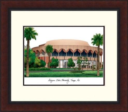 Arizona State Sun Devils Legacy Alumnus Framed Lithograph
