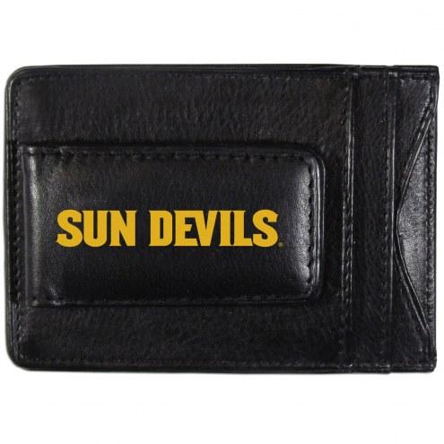 Arizona State Sun Devils Logo Leather Cash and Cardholder