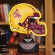 Arizona State Sun Devils Neon Helmet Desk Lamp