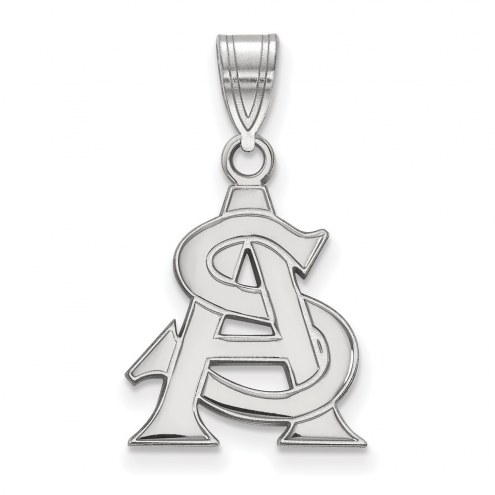 Arizona State Sun Devils NCAA Sterling Silver Medium Pendant